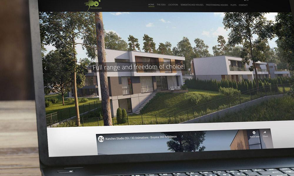 360 Residence Website