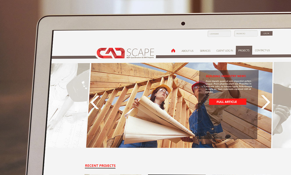 Cadscape Website